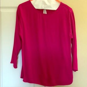 Massimo Dutti size small pink top